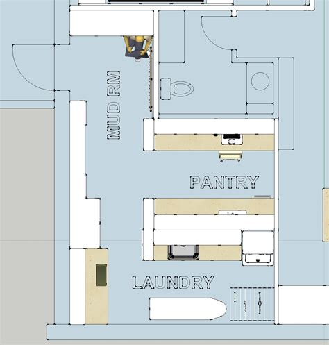 laundry mudroom floor plans parankewich manor walkout level generation suite