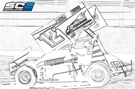 sprint car coloring page sprint car free coloring pages on art coloring pages