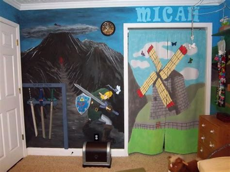 zelda themed bedroom the ultimate legend of zelda kid s room pics global