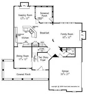 Country Open Floor Plans by Floor Plans Aflfpw22729 2 Story Country Home With 4