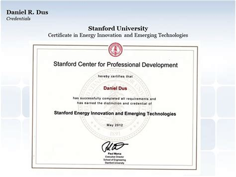 design certificate stanford stanford university certificate in energy innovation on