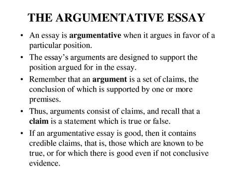 conclusion paragraph exles for argumentative essay