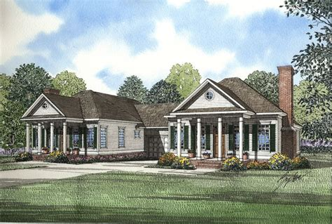 traditional southern house plans plan 59320nd southern traditional duplex home plan