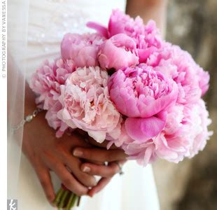 pink peonies wedding beautiful bridal pink peony bridal bouquets