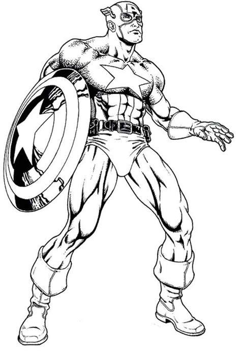 Marvel Captain America Coloring Pages Az Coloring Pages Captain Marvel Coloring Pages