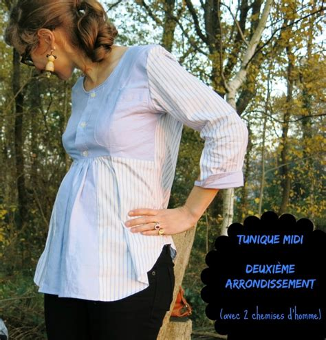 garde robe homme garde robe de grossesse 1 tunique midi en chemise d