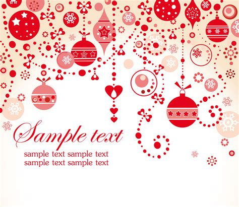 wallpaper christmas vector beautiful christmas background vector free vector 4vector