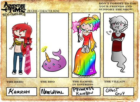 Adventure Time Original Character Meme - adventure time oc meme by imaginationxcorrupts on deviantart