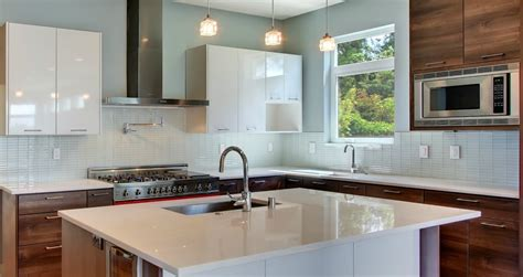 kitchen with glass backsplash tips on choosing the tile for your kitchen backsplash midcityeast