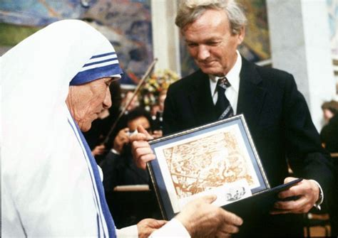 mother teresa nobel prize biography will mother teresa be made a saint next year bt