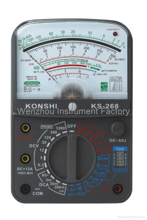 Multimeter Analog Sunwa analog multimeter ks 268 sunwa konshi china