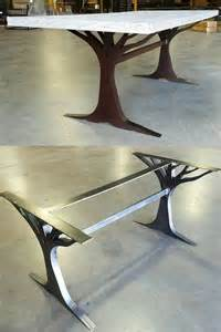 Metal Conference Table Legs 25 Best Ideas About Table Bases On Custom Glass Table Tops Steel Pipe Sizes And