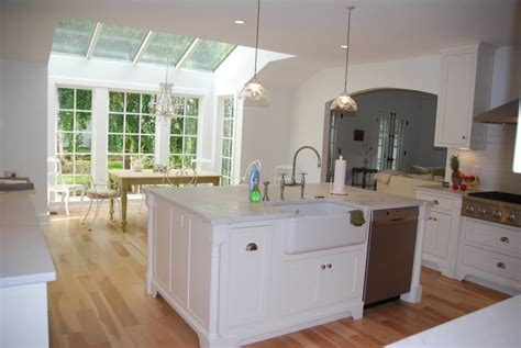 sink in kitchen island kitchen island with dishwasher and sink white cabinets