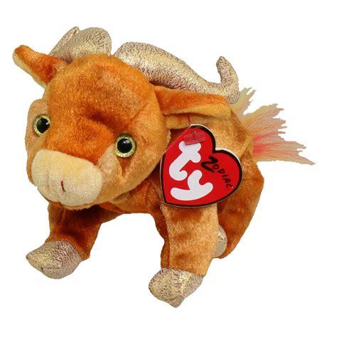 zodiac beanie babies ty beanie baby the ox chinese zodiac 6 inch