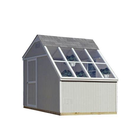 Lowes 8x10 Storage Shed by Shop Heartland Horizon Saltbox Wood Storage Shed Common