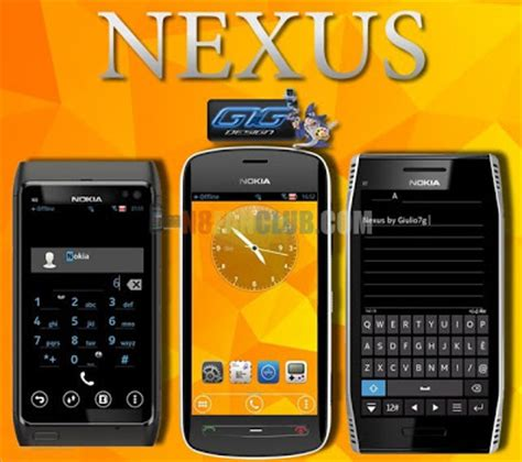 nokia 5233 belle themes nexus android theme for nokia n8 belle smartphones
