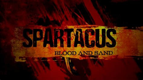 Blood And spartacus blood and sand rome across europe