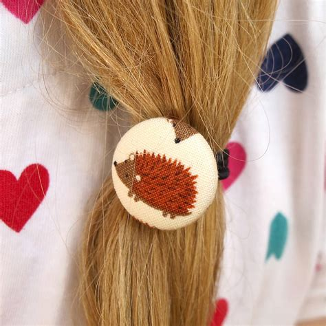 Fabric Hair Band woodland animal fabric hairbands by edamay