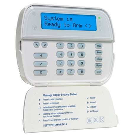 wt5500 dsc wireless 2 way keypad for alexor aartech canada