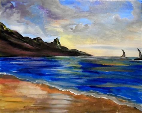 paint nite huntington paint nite sunset