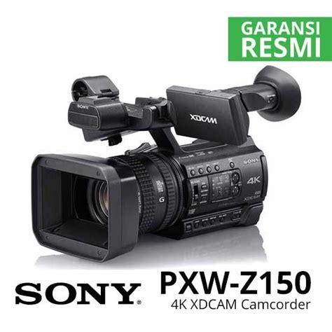 Sony Camcorder Pxw Z150 sony pxw z150 4k xdcam camcorder harga dan spesifikasi