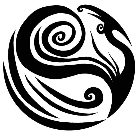 tribal yin yang tattoo amazing tribal yin yang design
