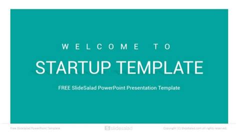 startup free download powerpoint presentation template