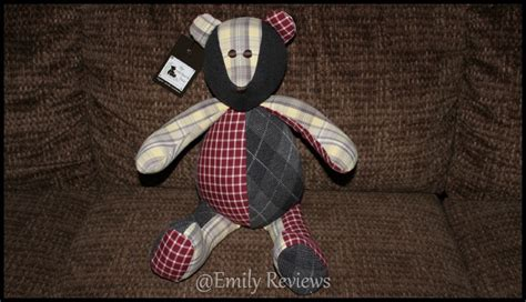 Patchwork Bears - the patchwork memory keepsake signature bears