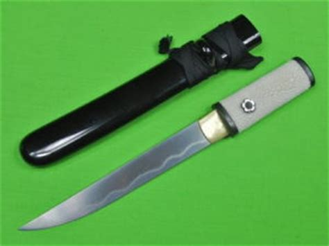 japanese fighting knives japanese japan tanto fighting knife scabbard