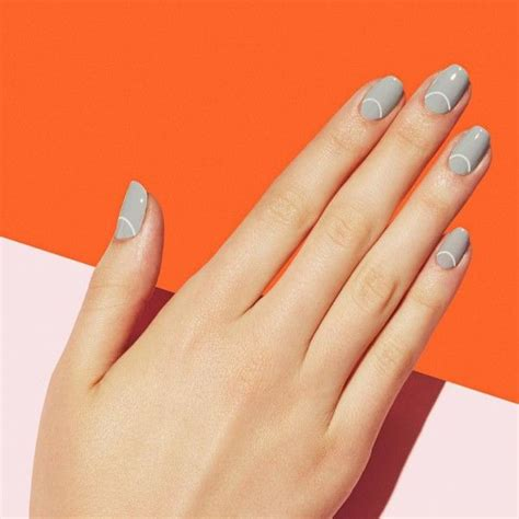 light grey nail 196 best boho nails images on