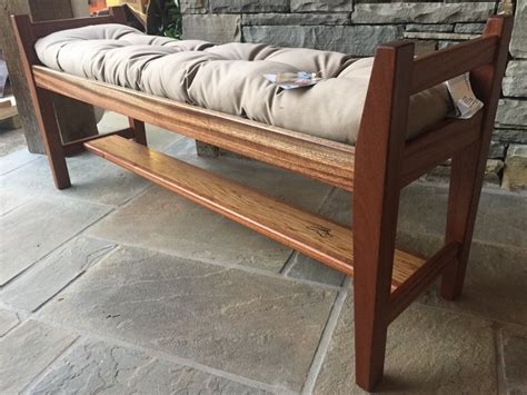 footboard bench footboard bench sapele wenge and white oak by jamie