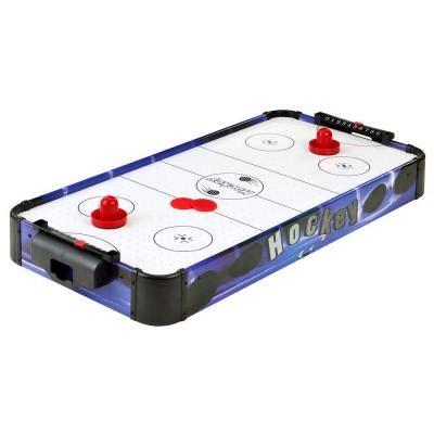 triumph blue line 7 air hockey table triumph sports usa led lighted bag toss tournament 35 7052