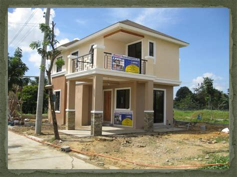 Small Modern Homes House Design Iloilo House Design In House Plans Philippines