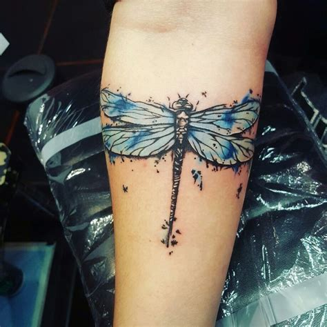 dragonfly wrist tattoo 25 best ideas about dragonfly on