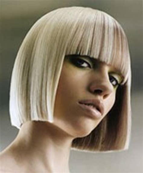 short one length hairstyles solid form look book pinterest bobs hair cuts and