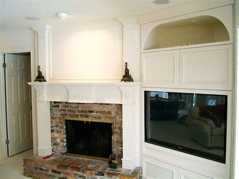 tv next to fireplace 17 best images about diy corner tv stands on pinterest