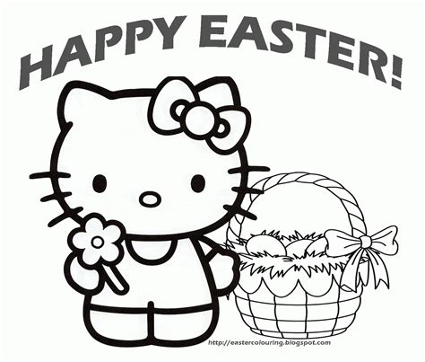 Hello Coloring Pages Easter by Hello Coloring Pages Easter Coloring Home