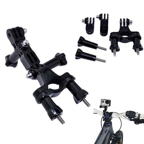 Hendlebar Seatpost Pole Pivot Arm Set Mounting For Xiaomi Yigopr gopro accessories bike motorcycle handlebar seatpost pole