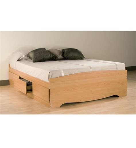 queen storage platform bed queen platform storage bed in beds and headboards