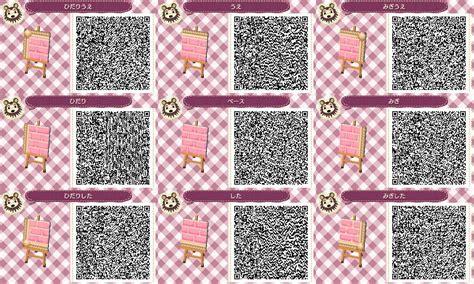 acnl qr codes paths pink brick path acnl animal crossing new leaf qr code qr