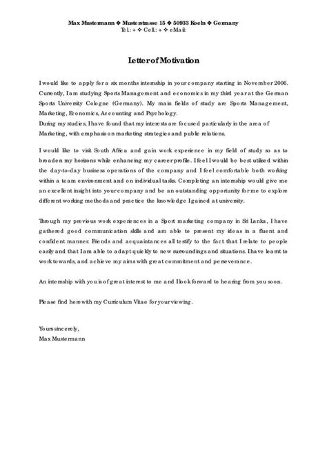 Personal Business Letter Assignment 12 best templates for motivation letter images on