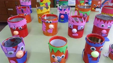 Cheap Diy Halloween Decorations Recycled Halloween Crafts 17 Old Tin Cans Decorations