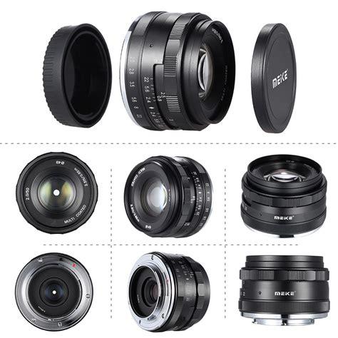 Meike For Fujifilm 50mm F20 Aps C meike mk fx 50 224 2 0 50mm f 2 0 mise au point manuelle aps c lens pour fujifilm x a1