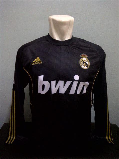 Baju Lengan Panjang Real Madrid jersey bola sepak malaysia lengan panjang auto design tech