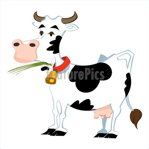 clipart mucca domestic animals adorable cow stock illustration