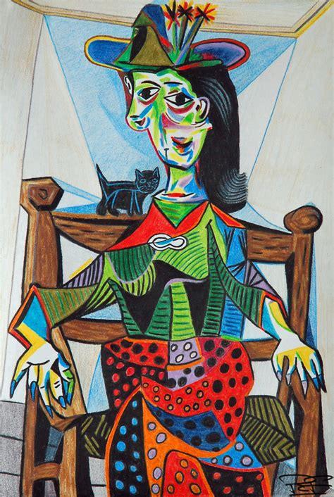 picasso paintings maar maar by artbypaulfisher on deviantart