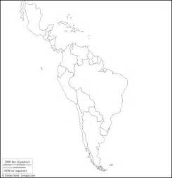 blank physical map of america
