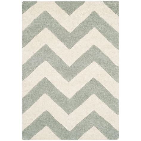 Pantofel Grey Ivory 2 safavieh chatham grey ivory 2 ft x 3 ft area rug cht715e 2 the home depot