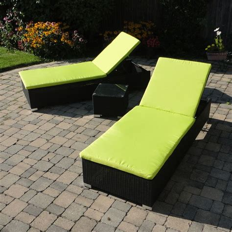 lime green chaise lounge cushions 22 best images about great outdoor wicker patio furniture
