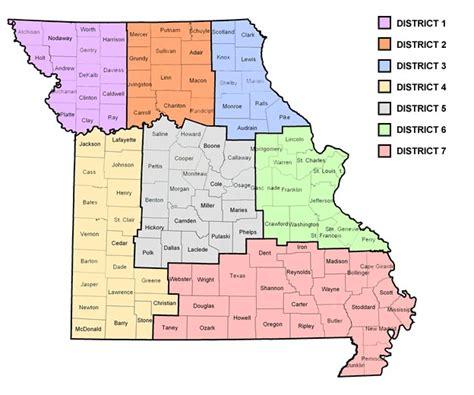 map of southern missouri map southern missouri my